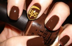 Reductress - UPS Nail Art