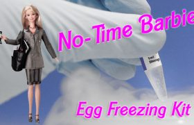 Mattel Introduces Barbie's New Egg Freezing Kit