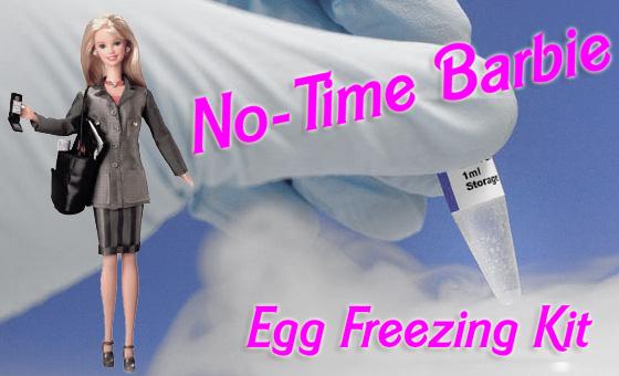 no-time barbie