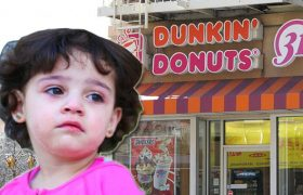 Woman on Walk of Shame Feels Judged by Toddler at Dunkin Donuts