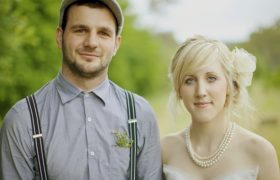 Eclectic Couple Only Invites Mason Jars to their Wedding