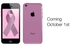 Apple Releases the iPhone 36b for Breast Cancer Awareness Month