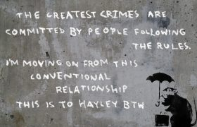 I Lived It: I Was Dumped by Banksy Via Street Art