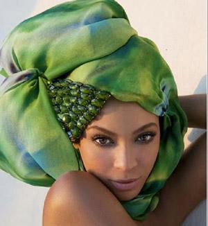 beyonce turban