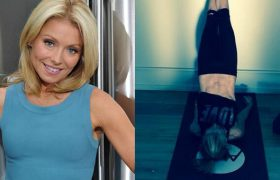 Kelly Ripa's Belly Button Gets Morning Show