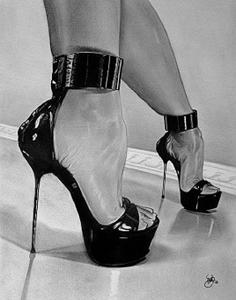 heels strappyblack