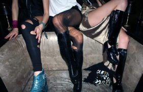 Flaunt Your Crazy With Ripped Tights