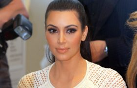 Vera Wang Designed Kim Kardashian's Wedding Thong