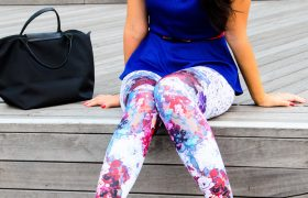 5 Must-Have Patterned Leggings to Get Dana from Zumba Class to Like You