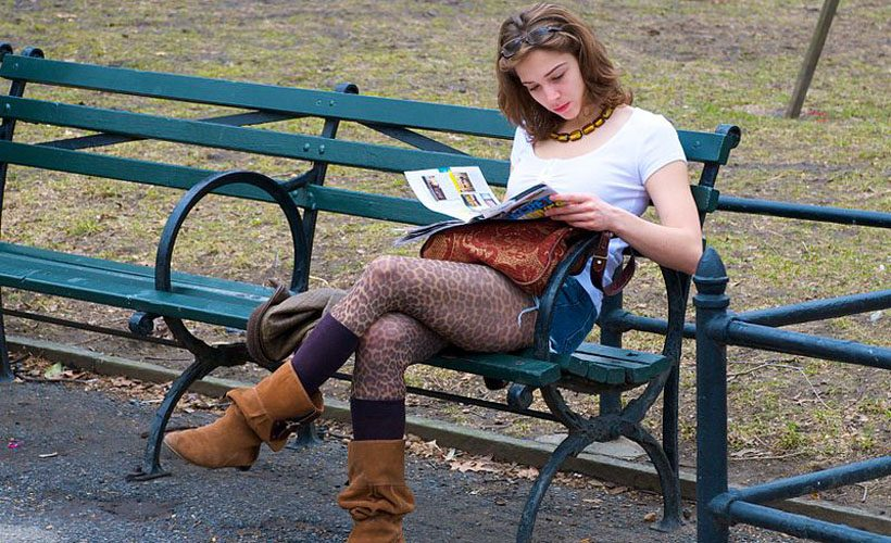 woman - reading - magazine - reductress