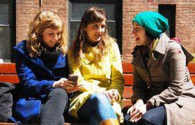 women talking - reductress