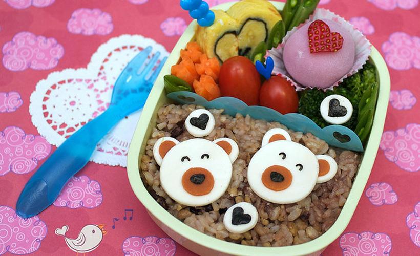 Valentine Bears Bento