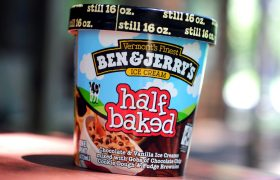 Ask a Pint of Ben & Jerry's Half Baked