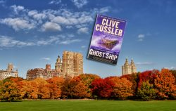 Autumn in the Big Apple is ripe with stay-cation opportunities for you and your BBF (best book friend).  Your paperback of Clive Cussler's 'Ghost Ship' doesn't need fancy dinners or a night on the town; all it wants is to be curled up on a big picnic blanket in the middle of Sheep's Meadow.