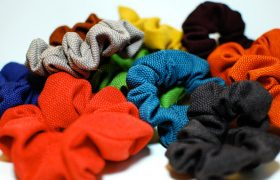 Cute Fall Scrunchies For Tying Your Tubes