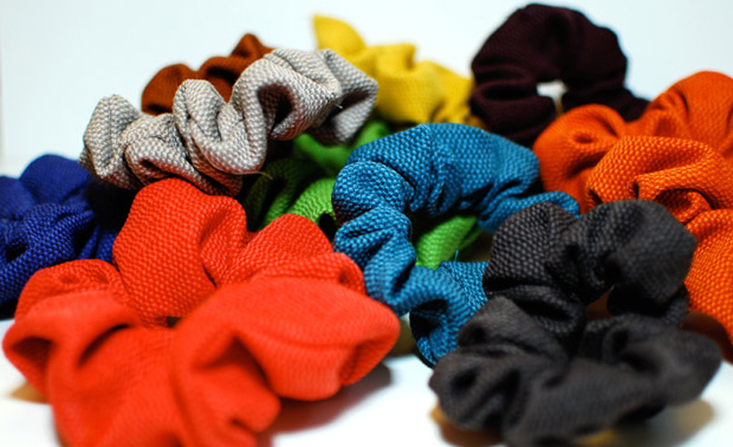 Reductress 187 Cute Fall Scrunchies For Tying Your Tubes