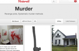 Pinterest Board Actually Detailed Murder Plot