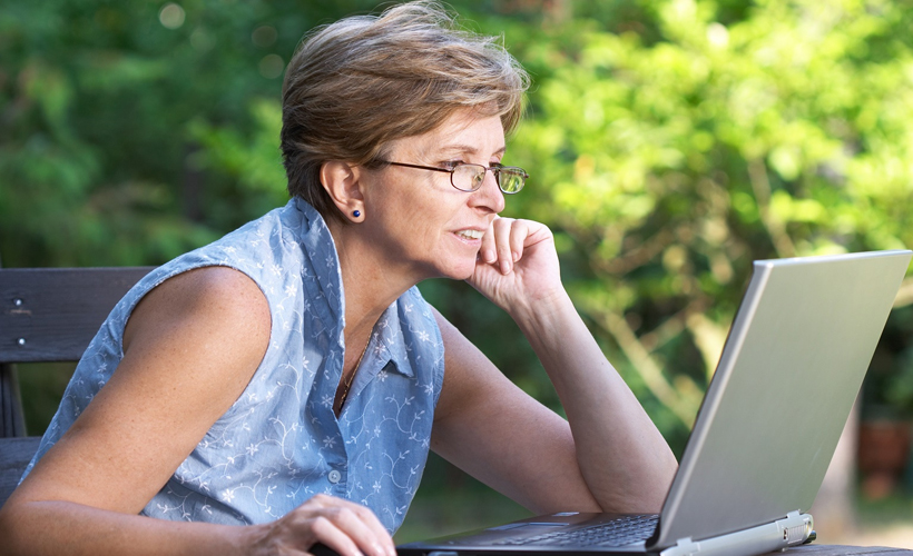 Mature Women On Computers 74