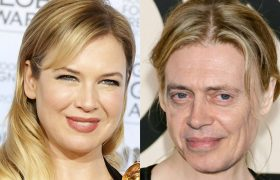 Renee Zellweger Hardly Recognizable After Replacing Face With Steve Buscemi's