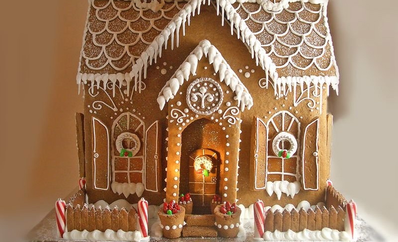 Reductress how to make a perfect gingerbread house when for How do you make a gingerbread house