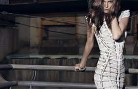 How To Cut Your Way Out of a New Year's Bandage Dress