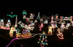 Woman Spends Children's College Fund On Christmas Lights