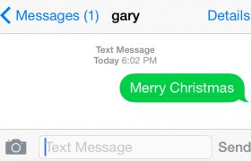 "Practical Responses To Your Ex's ""Merry Christmas"" Text"