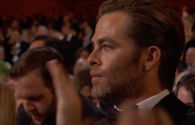 Oscars Report: Chris Pine Only Cried Because He 'Loves Bridges'