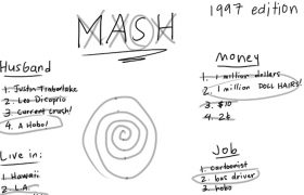 Woman's Life Perfectly Predicted by MASH Game Played in Fourth Grade