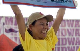 Local Woman Wins Stress-Eating Contest