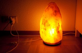 Woman Who Can't Afford A/C Owns Nine Salt Lamps