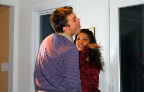 How To Flirt With Him Through A Series Of Playful Slaps