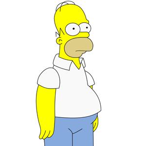 5 - Homer Simpson