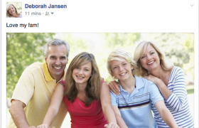 Revealed: The Many Lies of Deborah's Facebook Page
