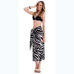 animal print sarong