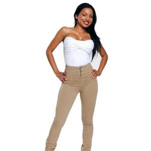 high waist khakis