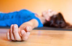 yoga dead woman