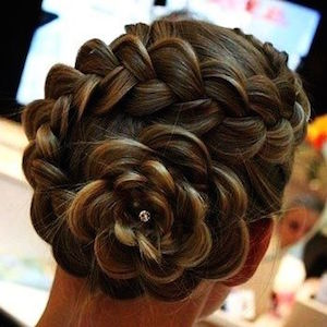 rose braid