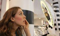 Woman makeup sephora store