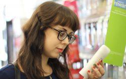 Woman deoderant drug store