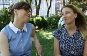 Women's Conversation Just a String of Apologies for Being Terrible at Communication