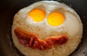 Are You One Of The Guys or a Smiley Face Made of Bacon and Eggs?