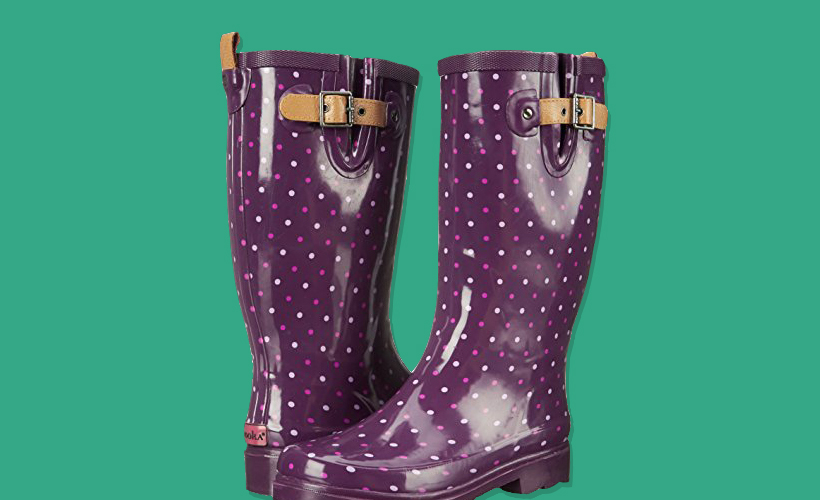 2_Chooka_Womens_Classic_Dot_Purple_Boot