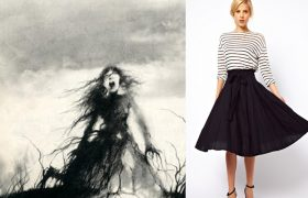 5 Adorable Skirts to Accidentally Stab to That Grave