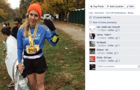 Woman Beats Marathon Personal Best With 82 Facebook Likes