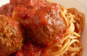 Signs He's Only Dating You for Your Mother's Meatballs