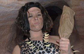 Me Funny Cavewoman Not Find Date