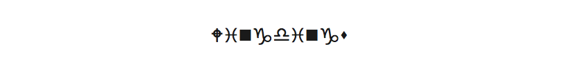 4. Wingdings