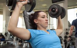 woman gym