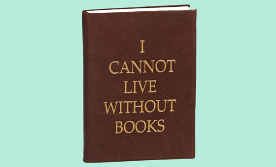 3 cannot live without books